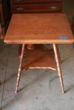 Oak Parlor Table