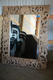 Large Framed Mirror