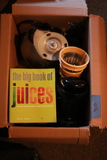 Juicer with Book