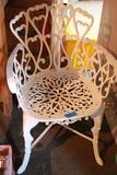Cast Aluminium Chair
