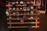 Spool Rack & Contents