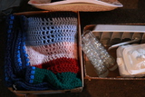 Afghan, Hats & Misc Kitchenware