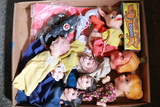 Box of Hand Puppets & Toys