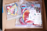 Box of Misc Patches