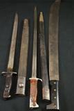 Machette & 2 Bayonets