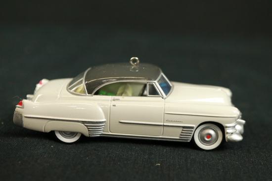 Hallmark 1949 Cadillac Coupe deVille Ceramic Tree Ornament