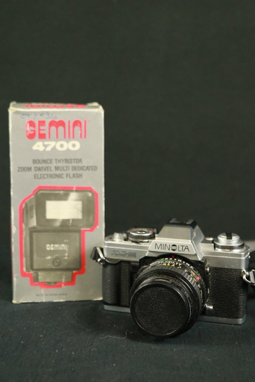 Minolta Camera & Flash