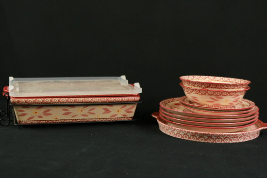 Temptations Ovenware & Plates