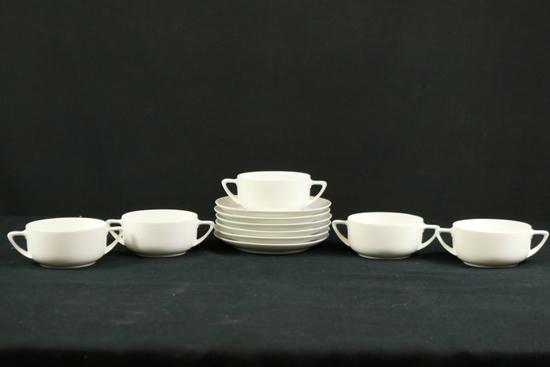 Set Of Rosenthal German Soup Bowls & Plates