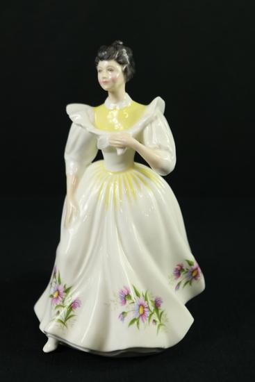 "Royal Doulton Figurine ""September"""