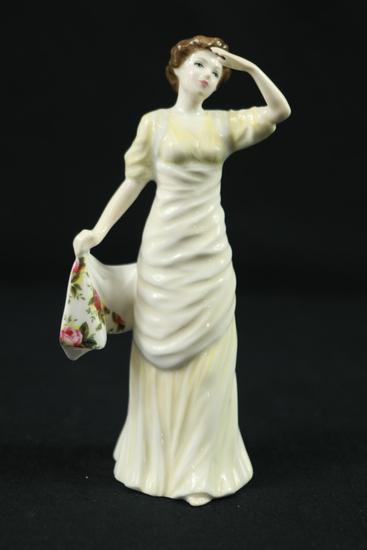 "Royal Albert ""Country Rose"" Figurine"