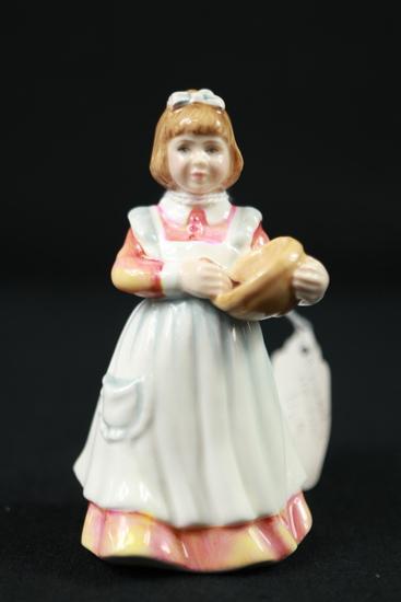 "Royal Doulton ""Mother's Helper"" Figurine"
