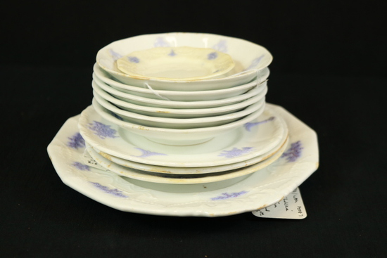 Old Chelsea Porcelain Bowls & Plates