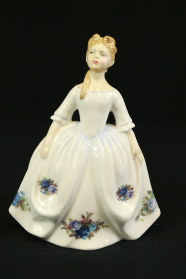 "Royal Doulton ""Moonlight Rose"" Figurine"