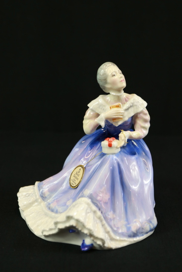 "Royal Doulton ""Happy Anniversary"" Figurine"