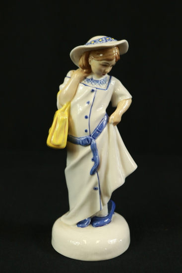 "Royal Doulton ""Dressing Up"" Figurine"