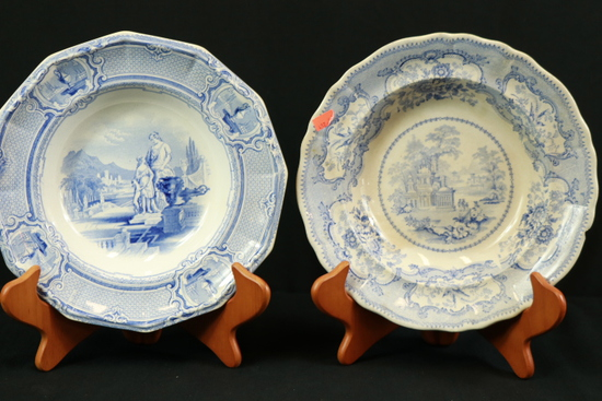 2 Blueware Bowls