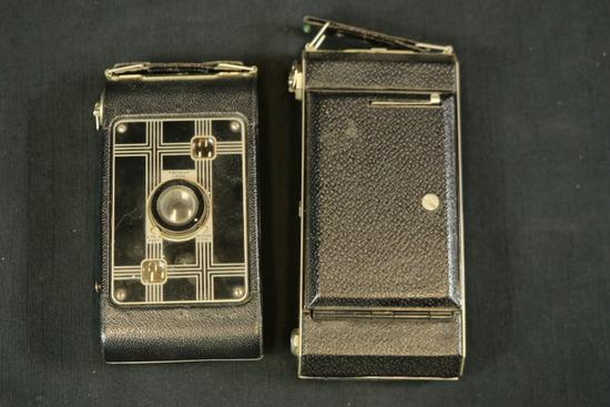 2 Vintage Kodak Cameras