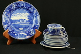 Assorted Blue Ware China