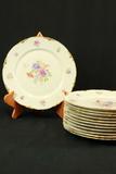 12 Warwick China Plates