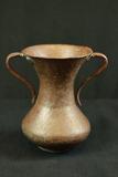 Battered Copper Vase