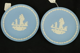 2 Wedgwood Mother Plates 1974