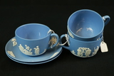 3 Wedgwood Cups & 2 Saucers