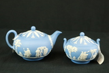 Wedgwood Tea Pot & Sugar Bowl