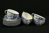 6 Nippon Cups & Saucers