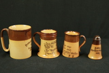 4 Pieces of Royal Doulton Brown Ware