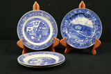4 Wood & Son Plates