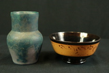 Stoneware Bowl & Vase