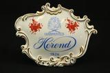 Herend Porcelain Display