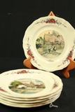6 French Plates