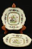 2 Wedgwood Malayda Plates
