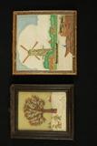 Delft Tile & Wax Picture