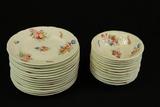 English Coalport China Plates & Bowls