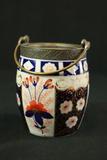 Victorian Porcelain Biscuit Barrel