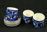 6 Wedgwood Cups & Saucers