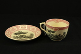 Adams China Bowl, Large Cup & Saucer