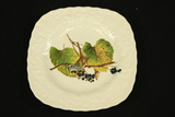 Meakin White Crown Sparrow Plate
