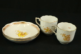 2 Herend Cups & Saucers