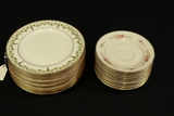 12 Royal Doulton Plates & 9 Noritaki Saucers