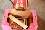 2 Boxes of Pictures & Mugs