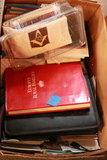 Box of Books & Postcards