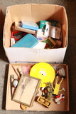 2 Boxes of Misc Office Supplies