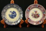 3 English Porcelain Plates
