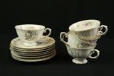 Franconia Krautheim Cups & Saucers Made In Bavaria