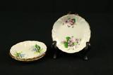 3 Princess House Bone China Plates
