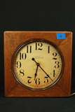 Telechron Oak Case Wall Clock